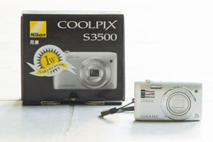 Review Kamera Poket Pemula: Nikon Coolpix S3500