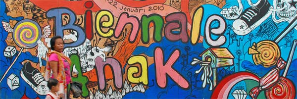 Kota Anak di Biennale Anak